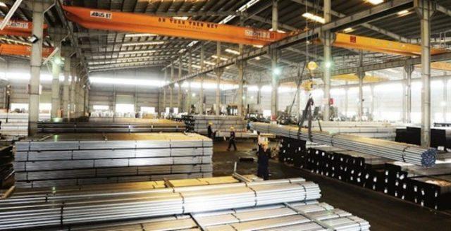 Sức ép đối với ngành thép Việt Nam